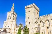 Palais des Papes, Avignon, France — Stock Photo