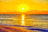 Beach and sun — Stock Photo