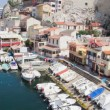 Stock Video: Vallon des Auffes, Marseilles, France