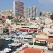 View of the Vallon des Auffes, Marseilles, south of France — Stock Video