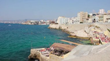 Coast in Marseilles, South of France — Vidéo
