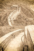 The Great Wall in China — 图库照片