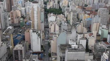 Many buildings in Sao Paulo, Brazil — 图库视频影像