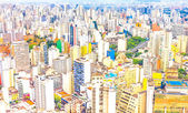 View of buildings in Sao Paulo, Brazil — Stock Photo