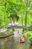 Canal in Giethoorn, The Netherlands — Stock Photo