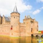 Medieval castle, Muiderslot, Muiden, The Netherlands — Stock Photo #48133473