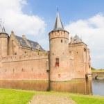 Muiderslot, medieval castle in Muiden, The Netherlands — Stock Photo #48133481