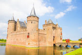 Medieval castle, Muiderslot, Muiden, The Netherlands — Stock Photo