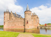 Muiderslot, medieval castle in Muiden, The Netherlands — Stock Photo