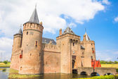 Muiderslot, Castle in Muiden, The Netherlands — Stock Photo
