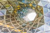 Detalle arquitectónico de un centro comercial en frankfurt — Foto de Stock