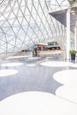Architectural features of the MyZeil shopping mall in Frankfurt — Stock Photo