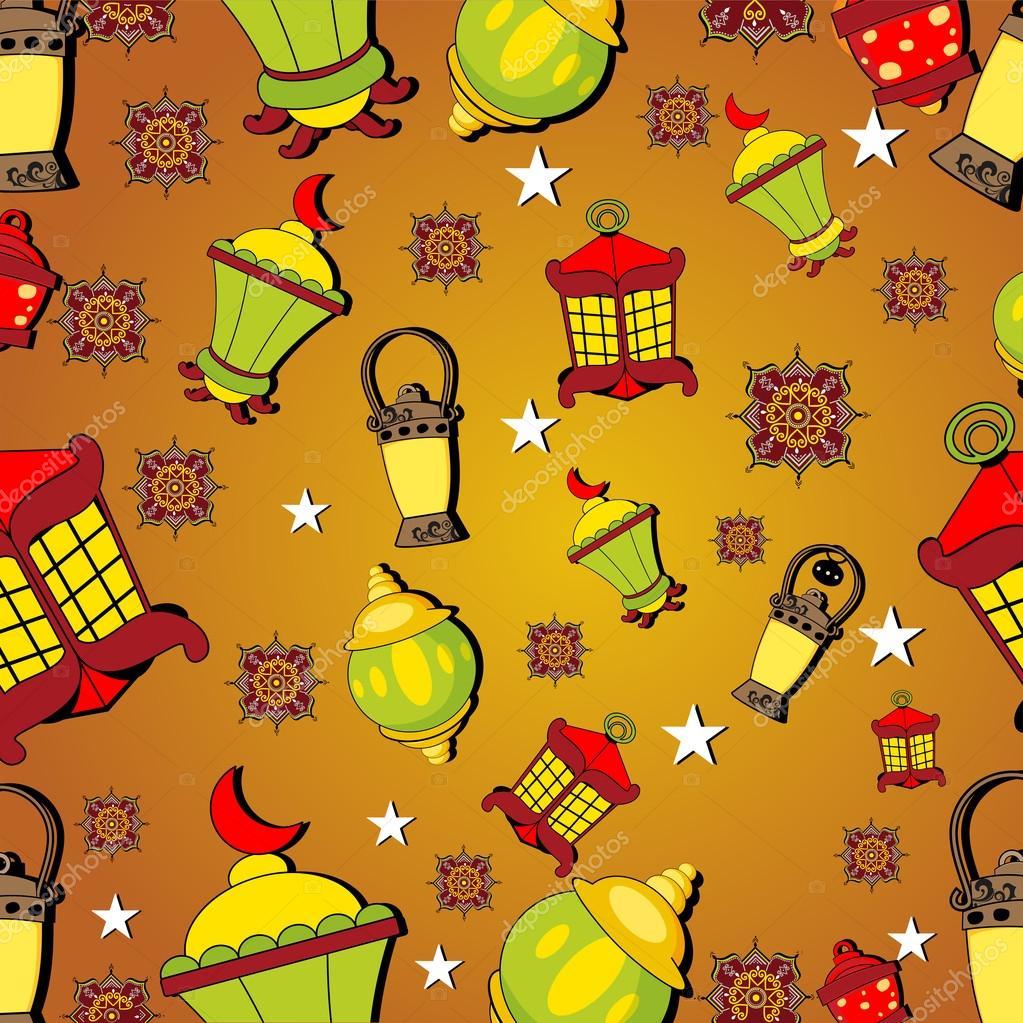 Intricate lamps or lantern for Ramadan Kareem or Ramazan Kareem ...