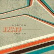 Grungy retro background. EPS 1 0 - Image vectorielle