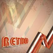 Grungy retro background. EPS 1 0 — Stock Vector