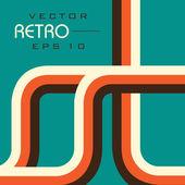 Retro style Vector illustration EPS 10 background. — Stock Vector