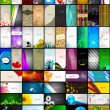 Mega collection of 60 abstract professional and designer busines - ベクター素材ストック