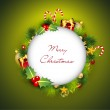 Merry Christmas greeting cards. EPS 10. — Stock Vector