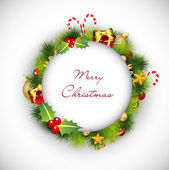 Merry Christmas greeting cards. EPS 10. — Stock vektor
