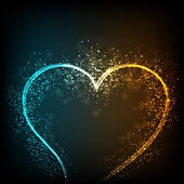 Kalbi olan kavram seviyorum. eps 10. — Stok Vektör