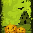 Stock Vector: Halloween background. EPS 10.