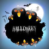 Halloween background. EPS 10. — Stock Vector