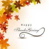 Thanksgiving background. EPS 10. — Vector de stock