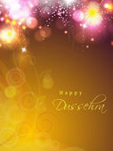 Dussehra festival background. EPS 10. — Stock vektor