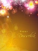 Dussehra festival achtergrond. eps 10. — Stockvector