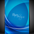 Corporate flyer, banner or cover design with colorful abstract d — ストックベクタ #13349446