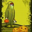 Halloween Background. EPS 10. - Stock Vector