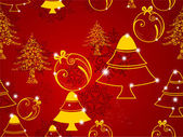 Seamless Merry Christmas background. EPS 10. — Stock Vector
