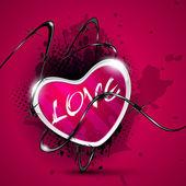 Sevgililer günü kalp. eps 10. — Stok Vektör