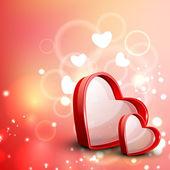 バレンタインの心。eps 10. — ストックベクタ