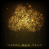 Feliz año nuevo fondo de celebración. eps 10. — Vector de stock