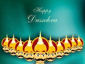 Dussehra festival background. EPS 10. — Stock Vector