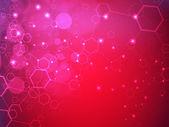 Molecules background. EPS 10. — Stock Vector