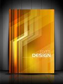 Professionelle business flyer vorlage bzw. unternehmen banner-design, — Stockvektor