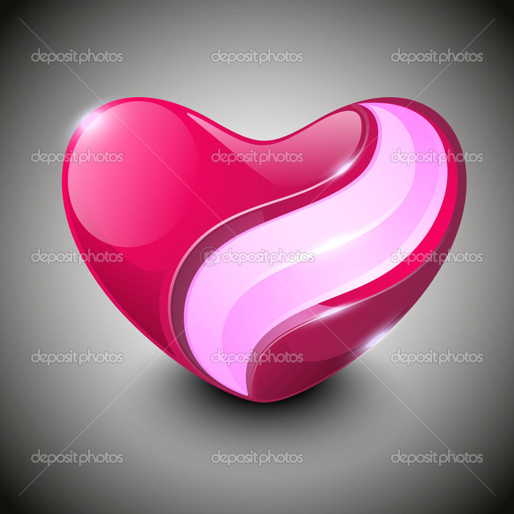 Valentine Heart. EPS 10.  — Stock Vector #13351573