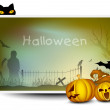 Royalty-Free Stock : Scary Halloween Background. EPS 10.