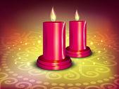 在印度排灯节庆典的贺卡。10 eps. — 图库矢量图片