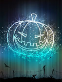 Scary Halloween Background. EPS 10. — Vecteur