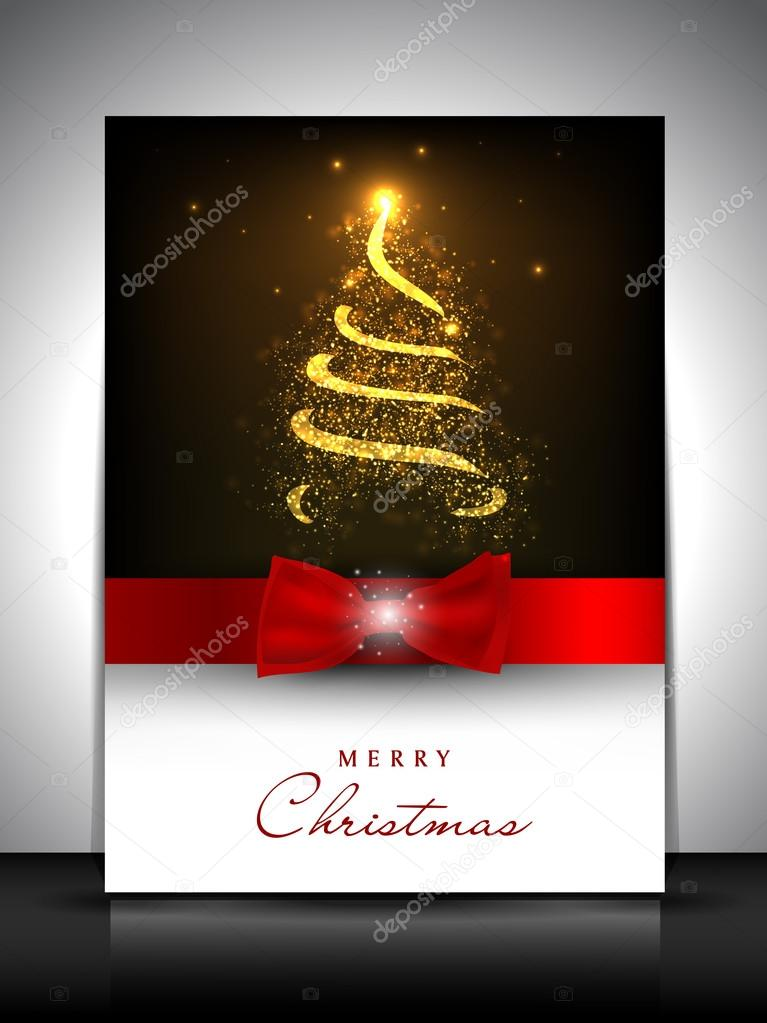 Merry Christmas greeting card. EPS 10. — Stock Vector #13526416