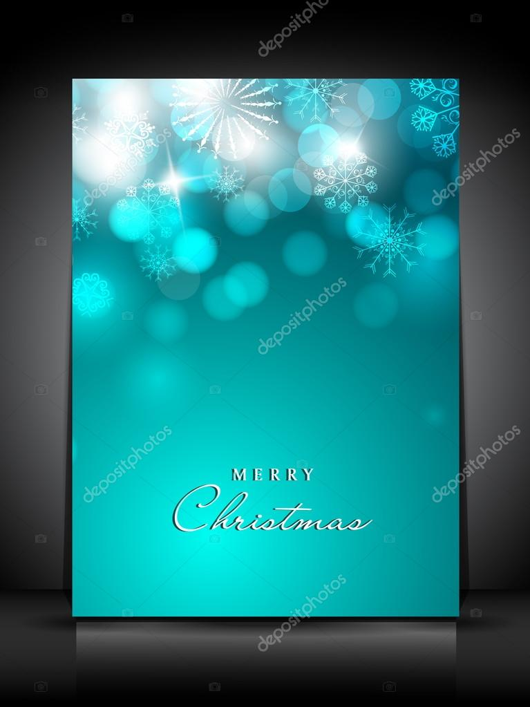 Merry Christmas greeting card. EPS 10. — Stock Vector #13526419