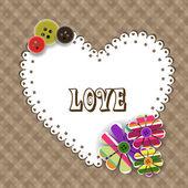 Abstract love concept. EPS 10. — Stock Vector