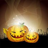 Scary Halloween night background. EPS 10. — Stock Vector