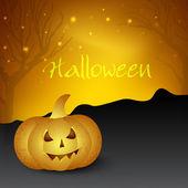 Strašidelné halloween noci pozadí. eps 10. — Stock vektor
