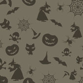 Halloween seamless background. EPS 10. — Stock Vector