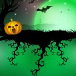 Royalty-Free Stock Vector Image: Spooky Halloween night. EPS 10.