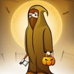 Halloween night background. EPS 10. — Stock Vector #13780383